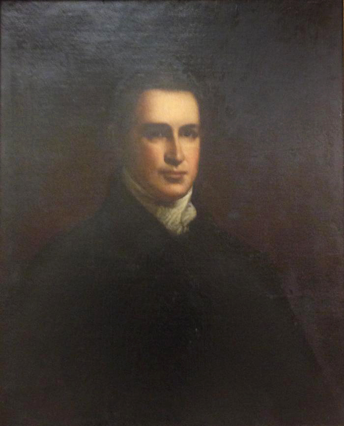 Portrait of mid-19th century man