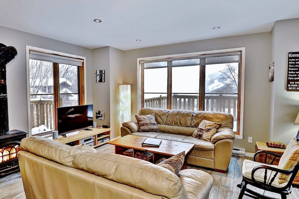 Cottages for rent for 7 people in Quebec #6