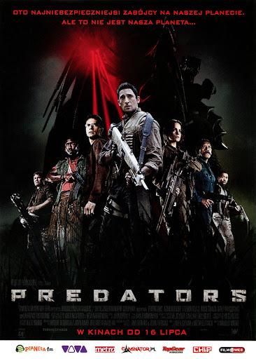 Przód ulotki filmu 'Predators'