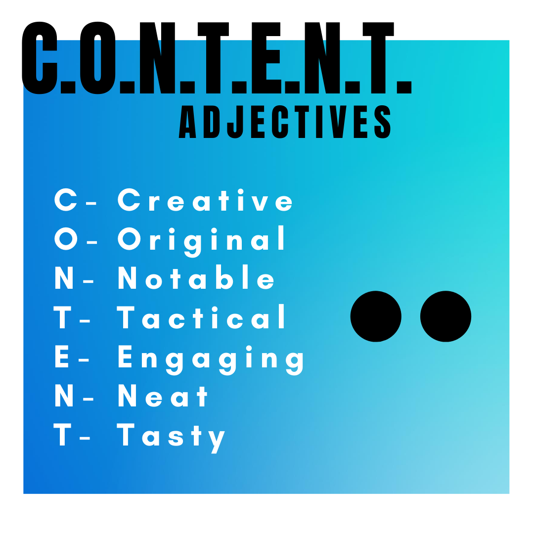 Content Writing Strategy 1