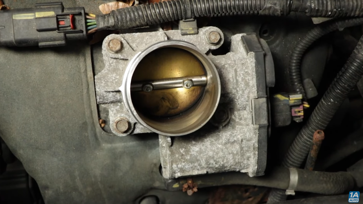 Image of Throttle Body on Chevy Equinox