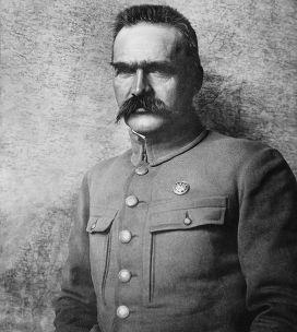 Маршал Польши Юзеф Пилсудский