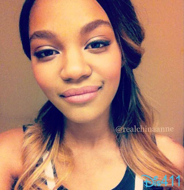Pretty Photo Of China Anne McClain And A Nice Message March 21, 2013: