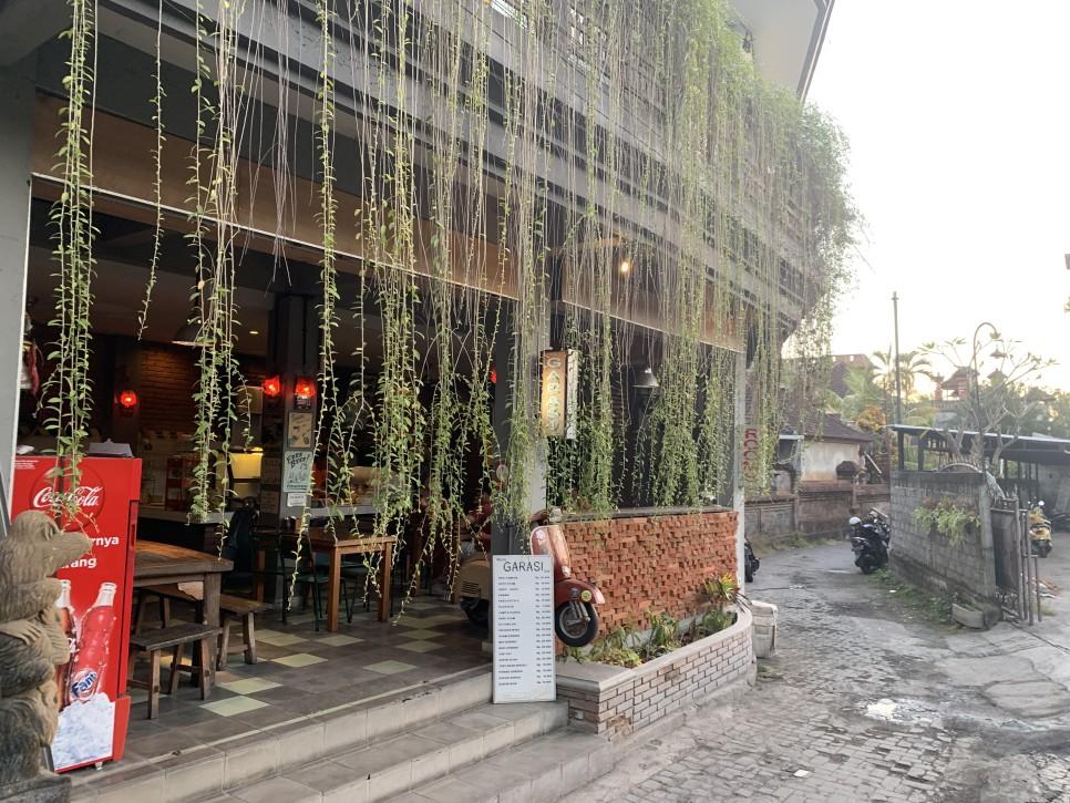 ウブドのレストラン「ワルンガラシ」でおすすめの安くておいしいインドネシア料理 Recommended Cheap and Tasty Indonesian Meal at Restaurant 'Warung Garasi' in Ubud