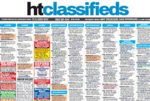 Hindustan Times Classified