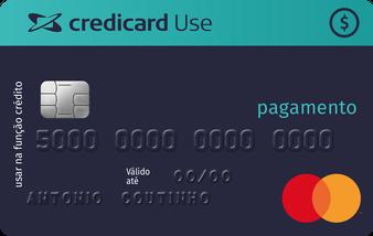 Cartão Credicard do Colabora Agora