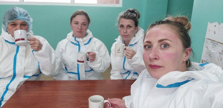 В инфекционном отделении Рубежанской центральной городской больницы работает только одна врач и четыре медсестры