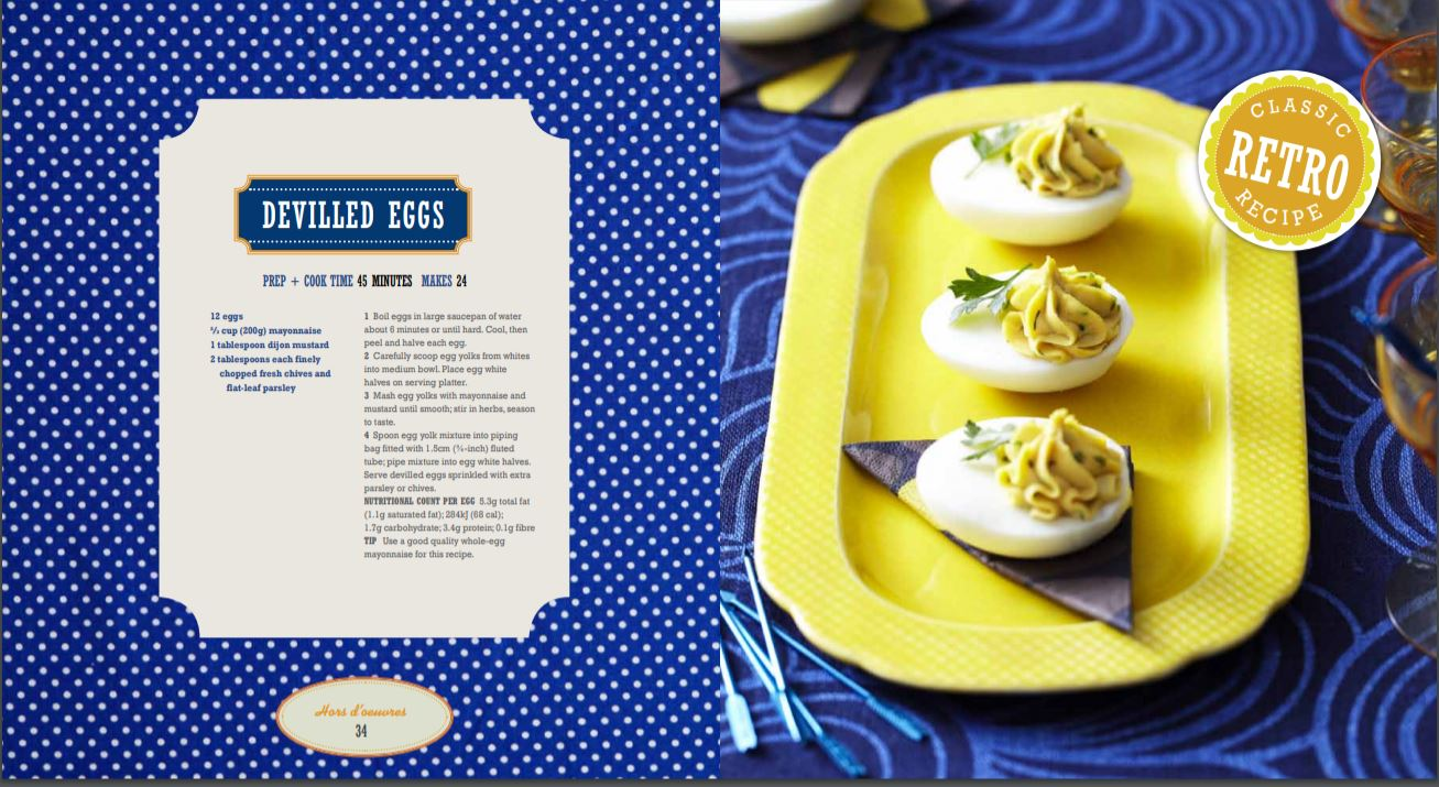 devilled eggs retro recipe creative cookbooks