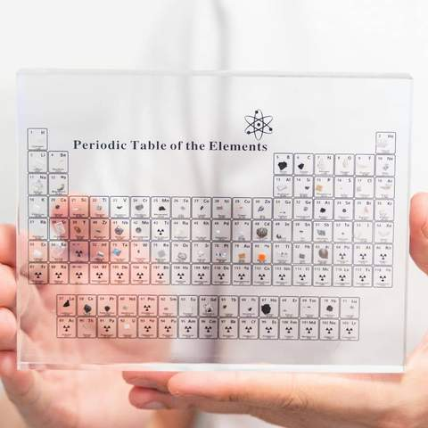Philosopher's Stone - Periodic Table With Real Elements I