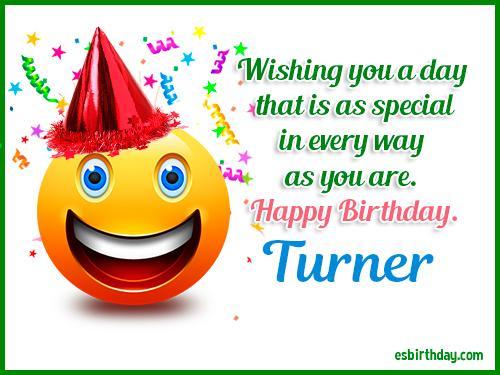 Image result for happy birthday Turner