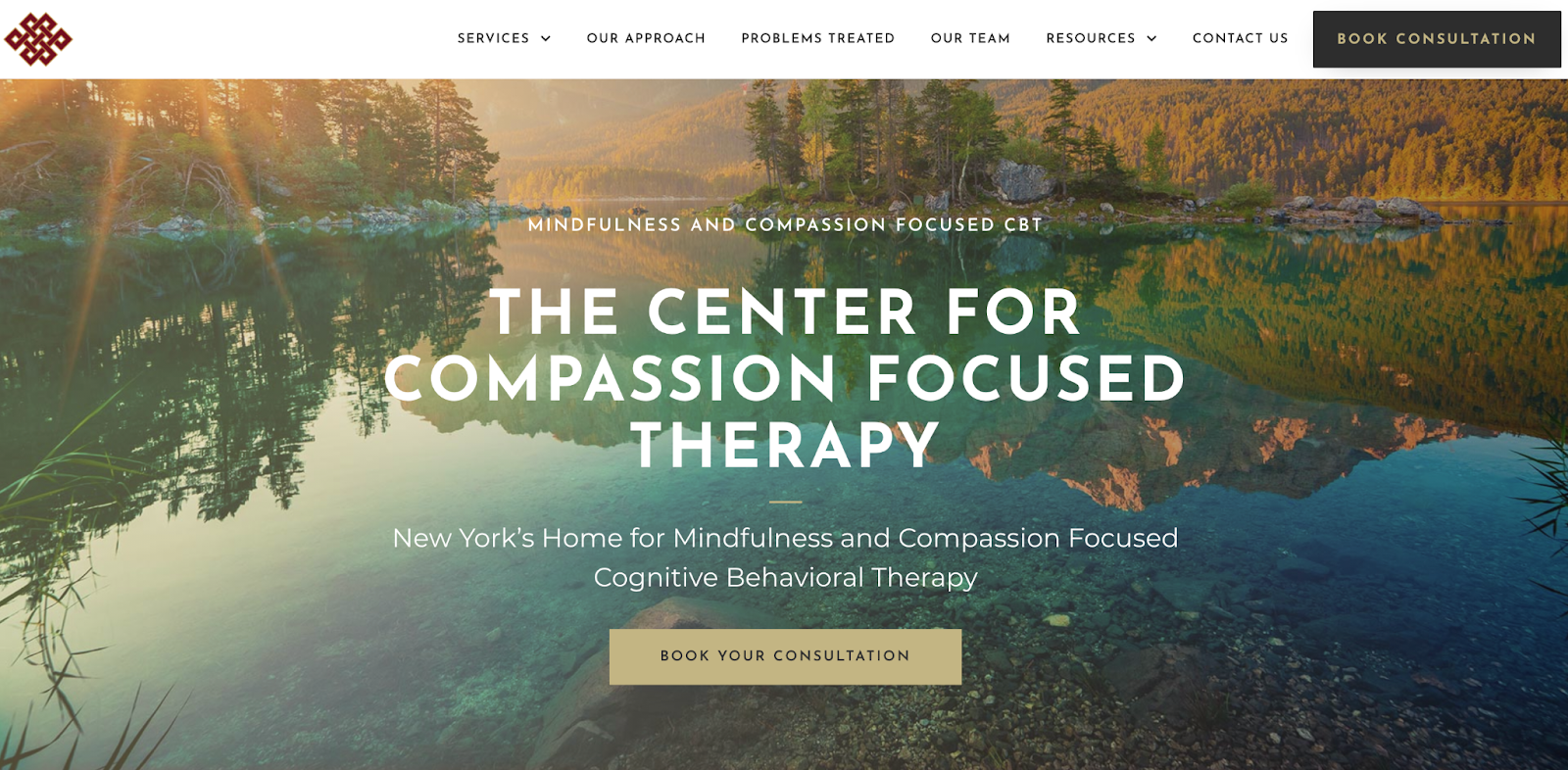 The Center For Compassion Focused Therapy Website