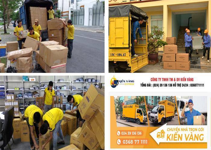 1 Dịch vụ chuyển nhà, chuyển văn phòng trọn gói Kiến Vàng Hà Nội