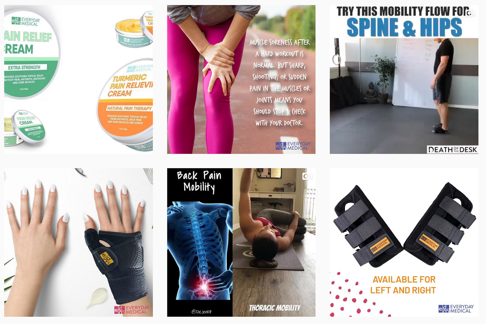 Everyday Medical | Pain Relief Products