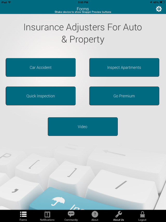 Snappii® Insurance Adjusters App