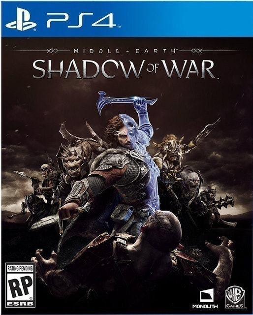 4. Middle Earth Shadow Of War