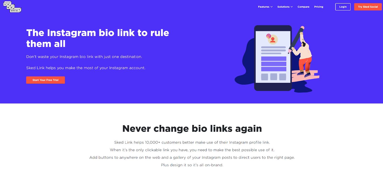 Sked Link website
