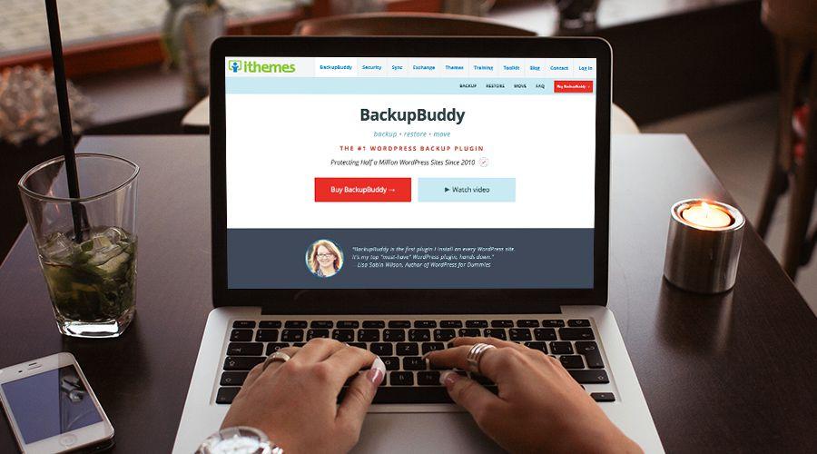 Sao lưu trang web WordPress của bạn với BackupBuddy