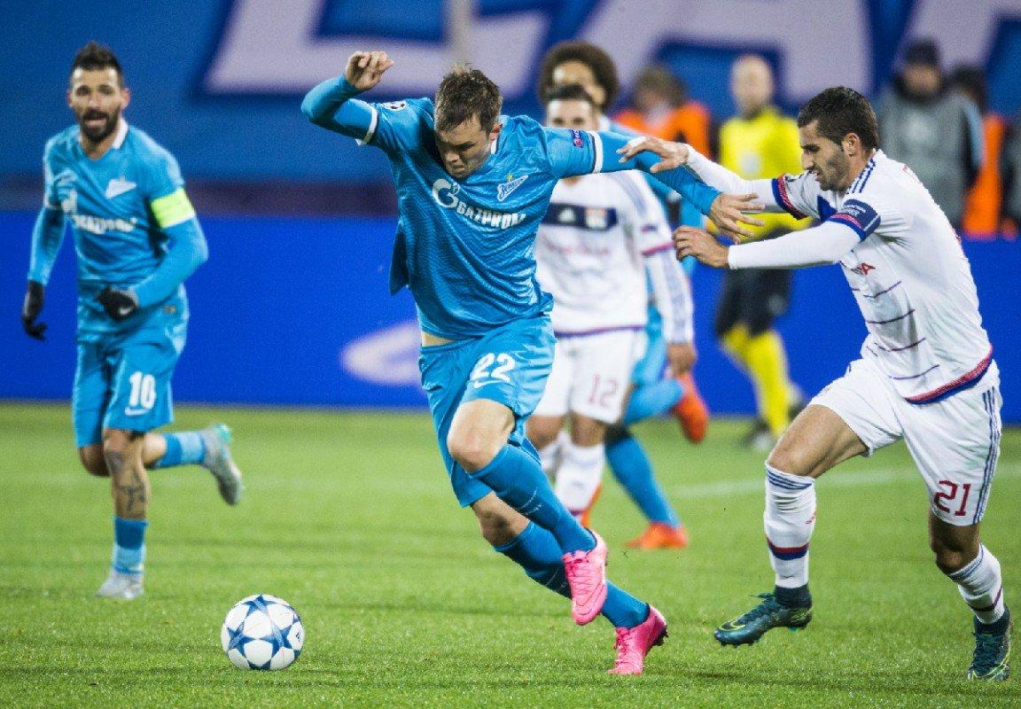 Дзюба забил гол Лиону
