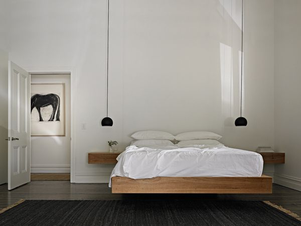 Simple Floating Bed