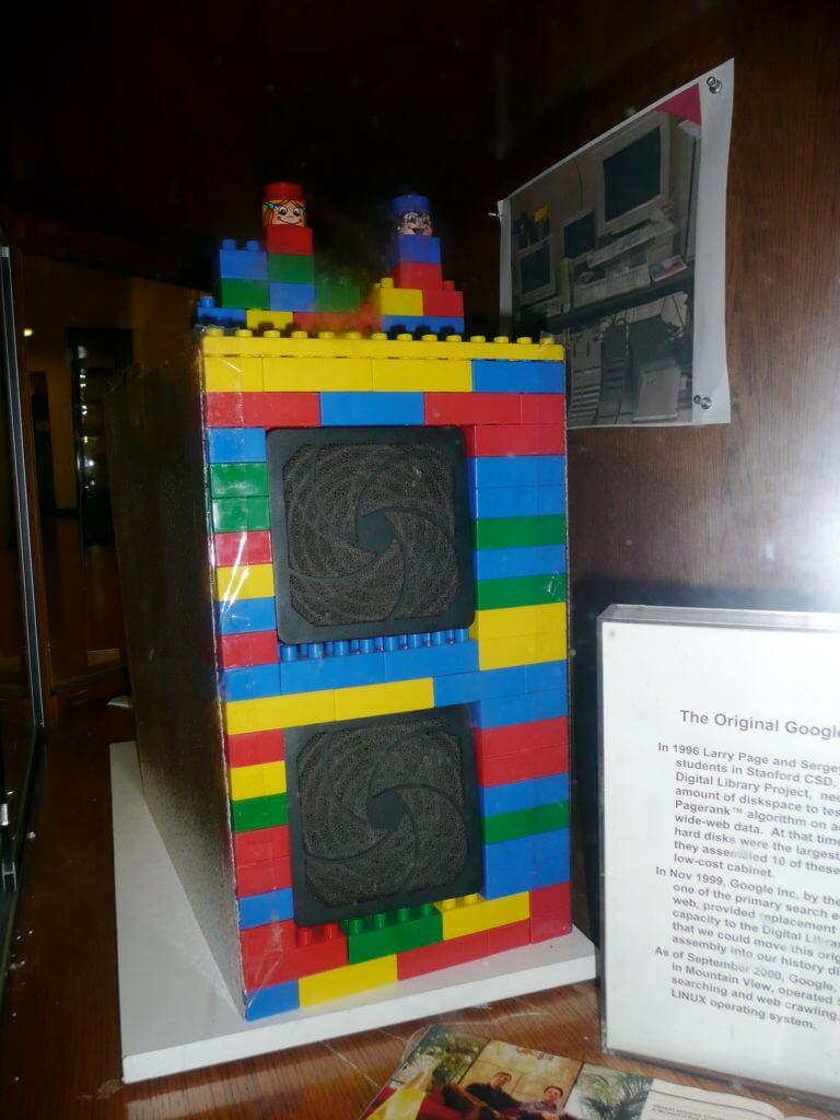 Komputer Google pertama yang terbuat dari Lego