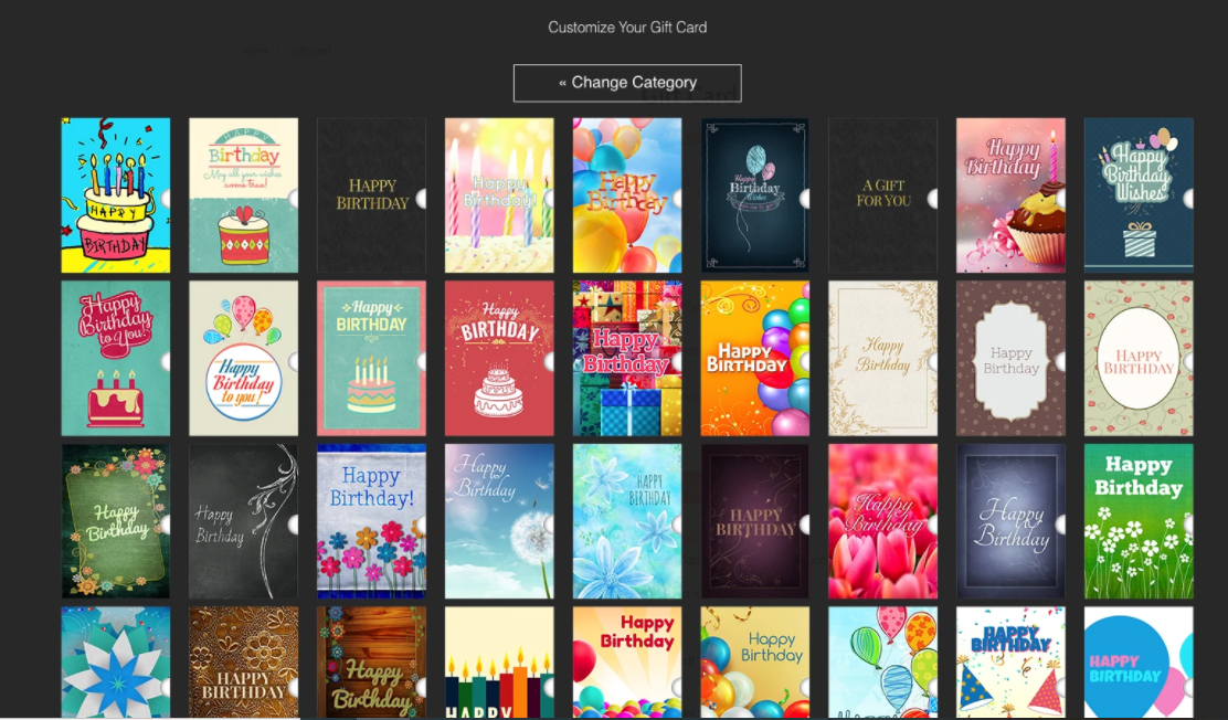 Shopify gift card app