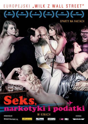 Przód ulotki filmu 'Seks, Narkotyki i Podatki'
