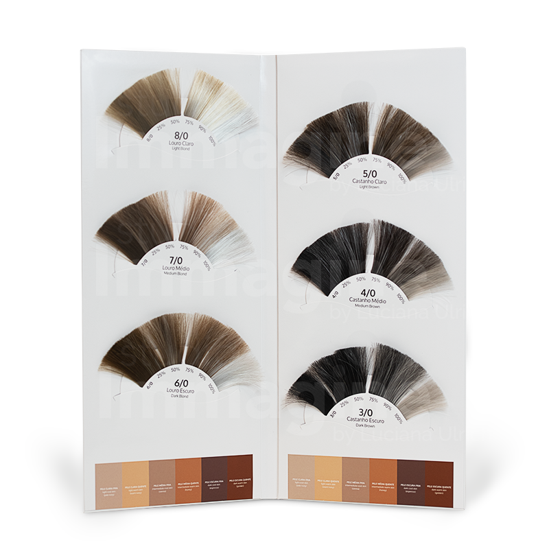 Mechas Coloridas  - Cabelos Brancos e Contraste, produto Studio Immagine