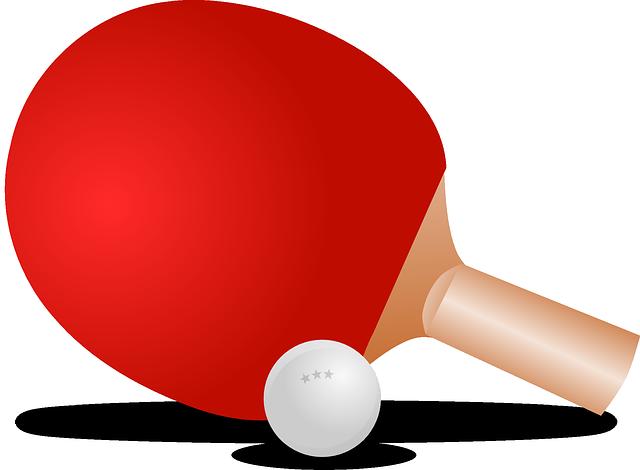 Ping-Pong, Table Tennis, Ball,