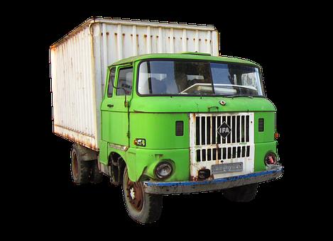 Truck, Old, Old Truck, Ifa, Ifa W 50
