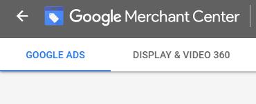connecter Google Ads à Google Merchant Center