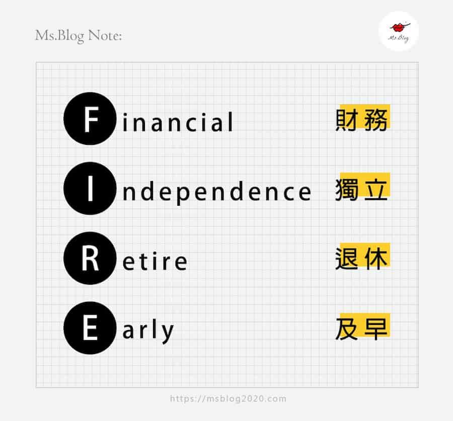 FIRE是什麼? 財務自由又是什麼?