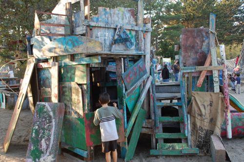 Berkeley Adventure Playground Structure