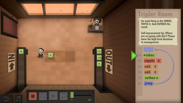 Human Resource Machine, games, android