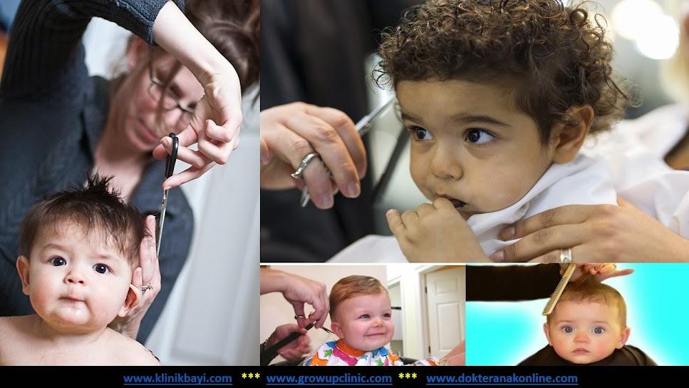 Manfaat dan Cara Memotong Rambut Bayi
