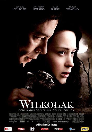 Przód ulotki filmu 'Wilkołak'