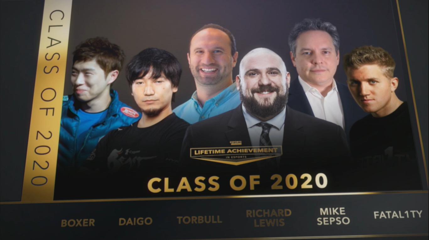 esports awards 2020 ganadores
