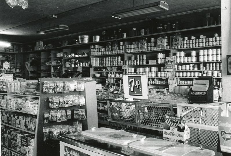 Hong Wo General Store which operated from 1895 to 1971. Photo from City of Vancouver Archives.