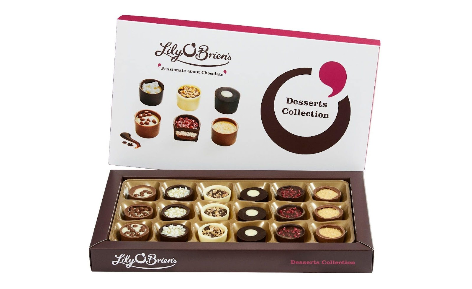 Clintons Lily O'Briens Dessert Collection Box