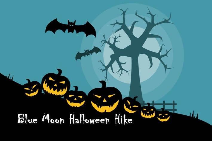 Blue Moon Halloween hike