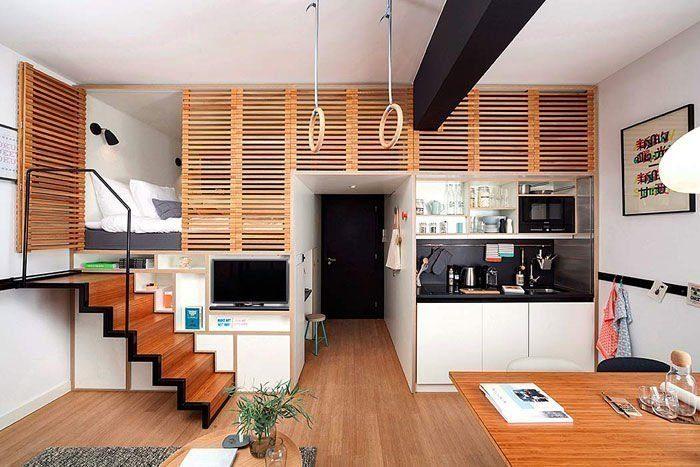 Những thiết kế nội thất trong căn hộ luôn chiếm được sự cảm tình