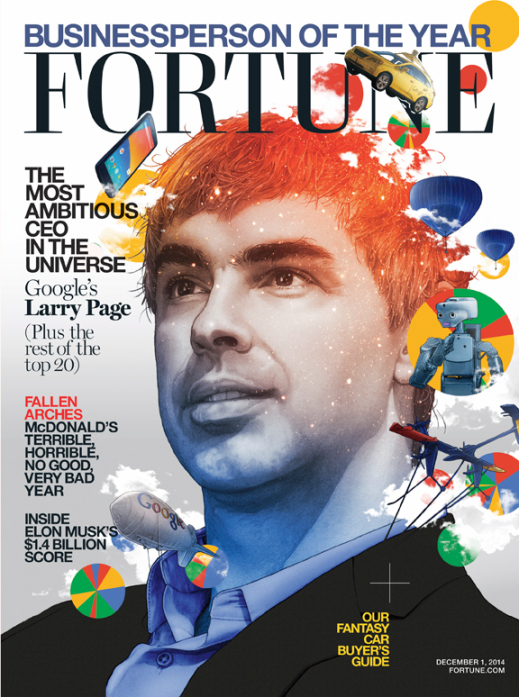 Larry Page Fortune