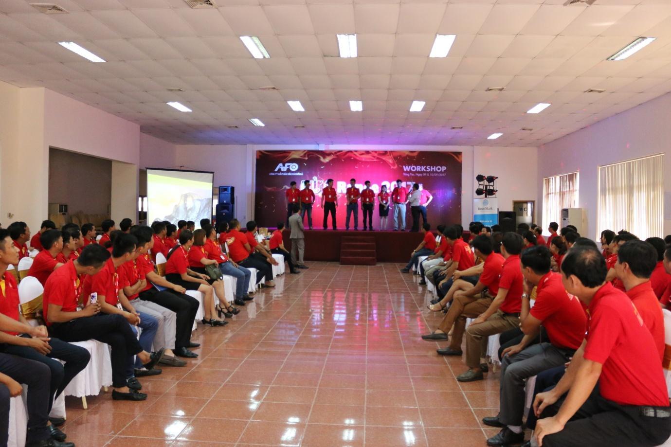 1. Tập thể CBNV Công ty AFO tham gia lớp đào tạo kỹ năng bán hàng và kỹ năng làm việc nhóm.JPG