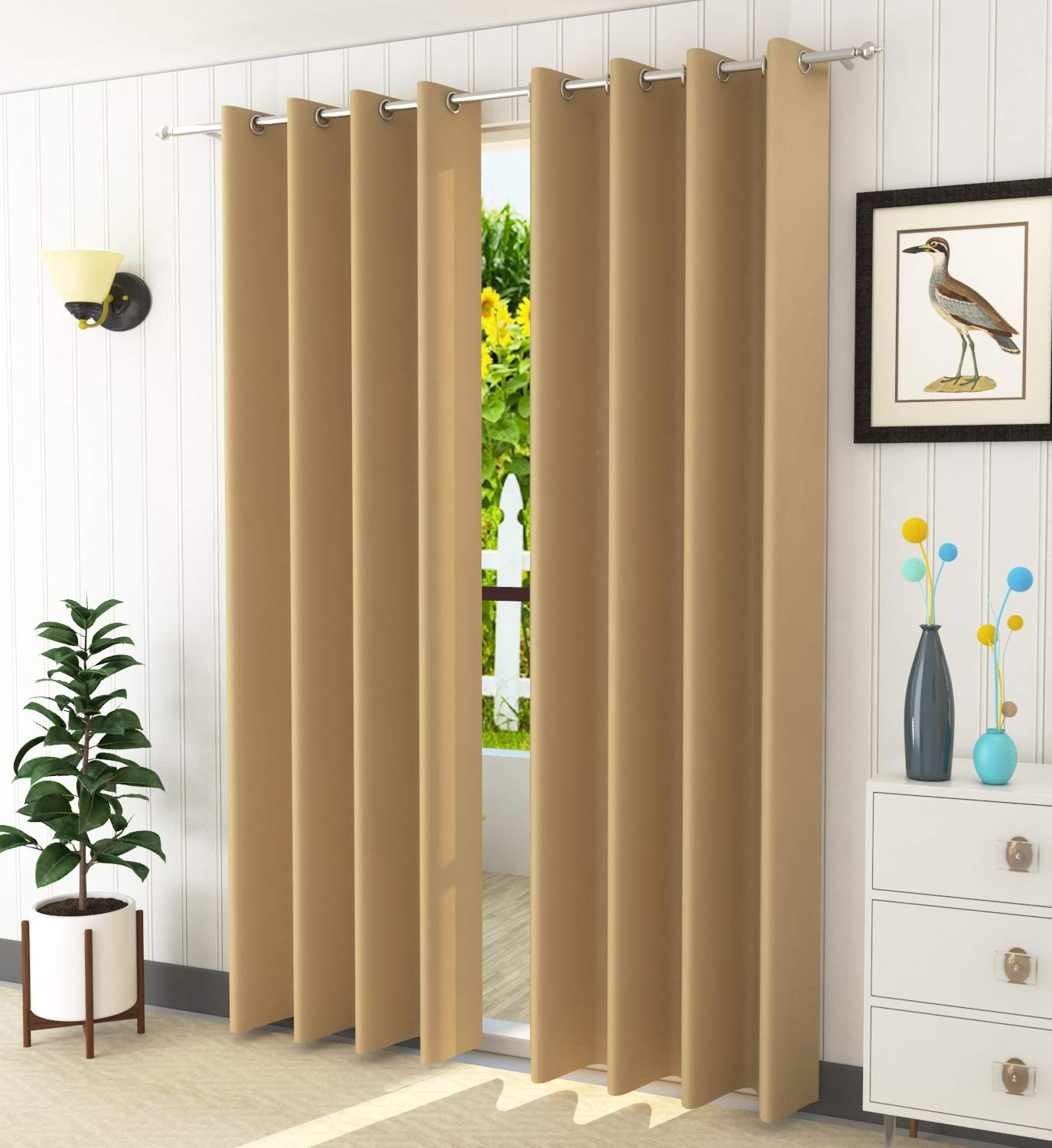 LaVichitra Blackout Curtains