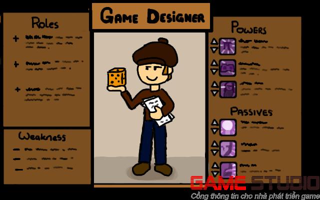 4 bước cơ bản của một nhà thiết kế trò chơi