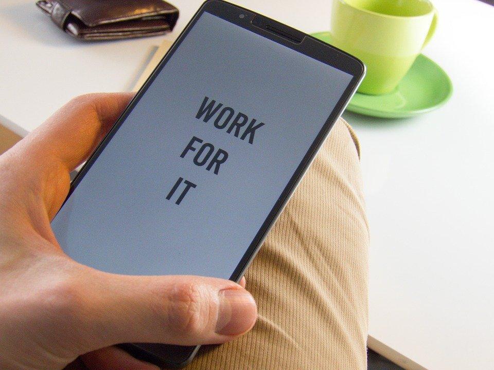 Motivación, Teléfono, Mensaje, La Mano, Éxito