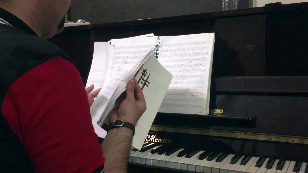 ۷ و ۸ احسان نیک آموزش پیانو