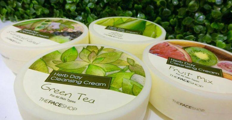 Tẩy trang chiết xuất trà xanh Herb Day The Face Shop