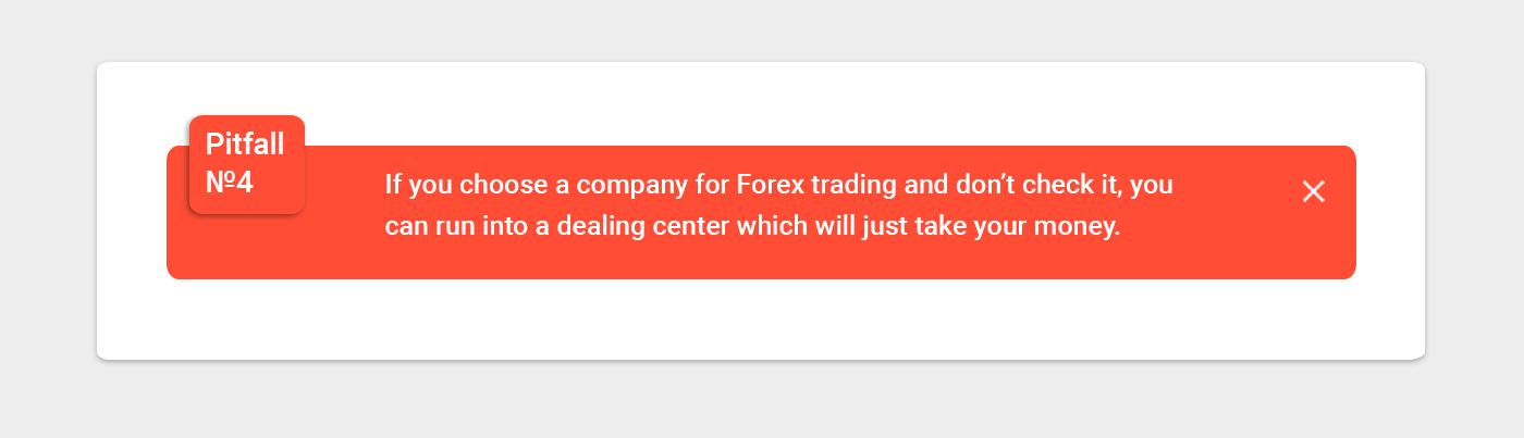 forex trading pitfall 4