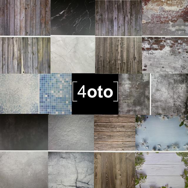 Колекція фотофонов з вінілу магазину 4oto.pro