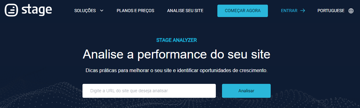 analisar performance site